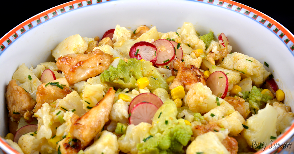 Patty Saveurs | Chicken and Cauliflower salad