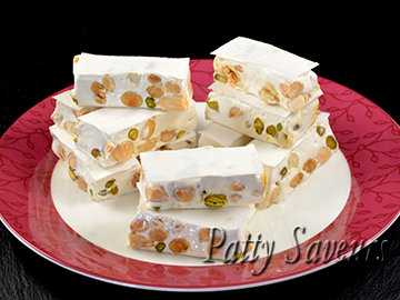 Almond and Pistachio Nougat small