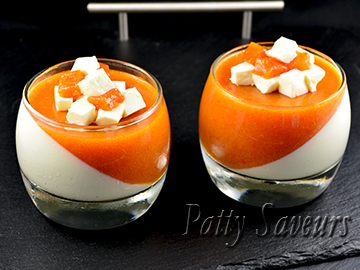 Apricot and Vanilla Panna Cotta small