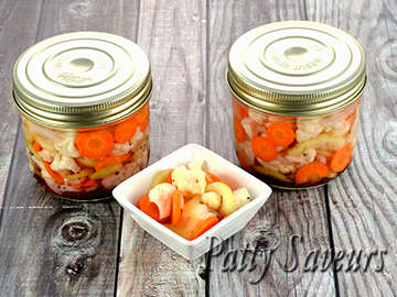 Asian Style Pickled Vegetables small