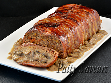 Bacon Wrapped Beef Meatloaf small