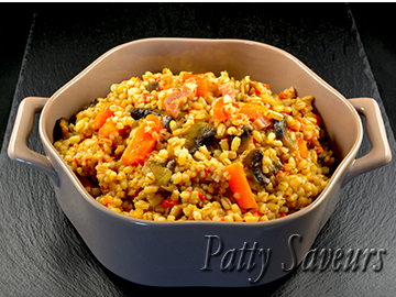 Barley Bacon and Vegetables Risotto small
