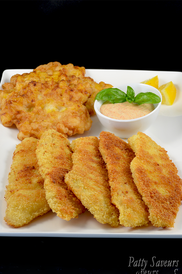 How to make breaded fish fillet