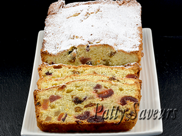 Candied Fruit Quick Bread petite