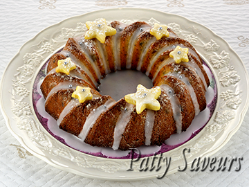Candied Fruit Winter Bundt Cake small
