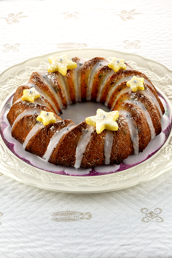 Candied Fruit Winter Bundt Cake Pinterest