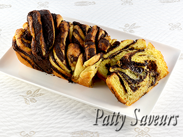 Chocolate Babka small