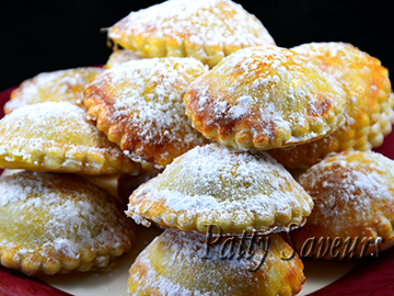 Chocolate Banana Hand Pies small