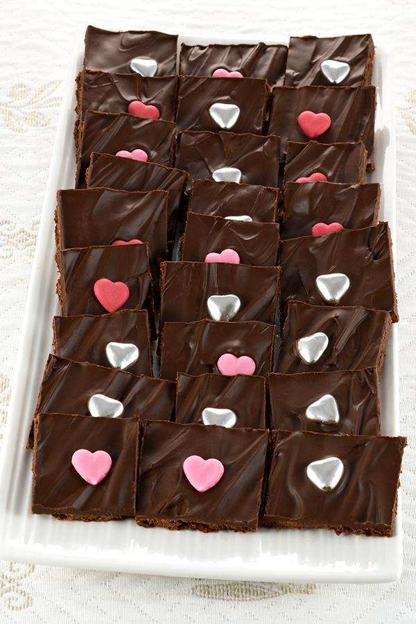 Chocolate Brownie Brittle Bark
