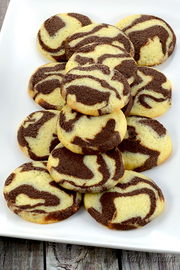 Chocolate Marble Cookies Recipe Pinterest