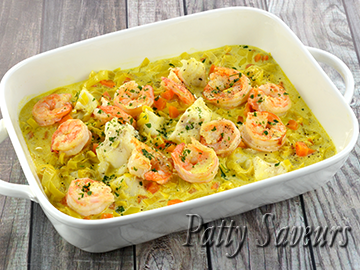 Cod and Shrimp Creamy Stew small