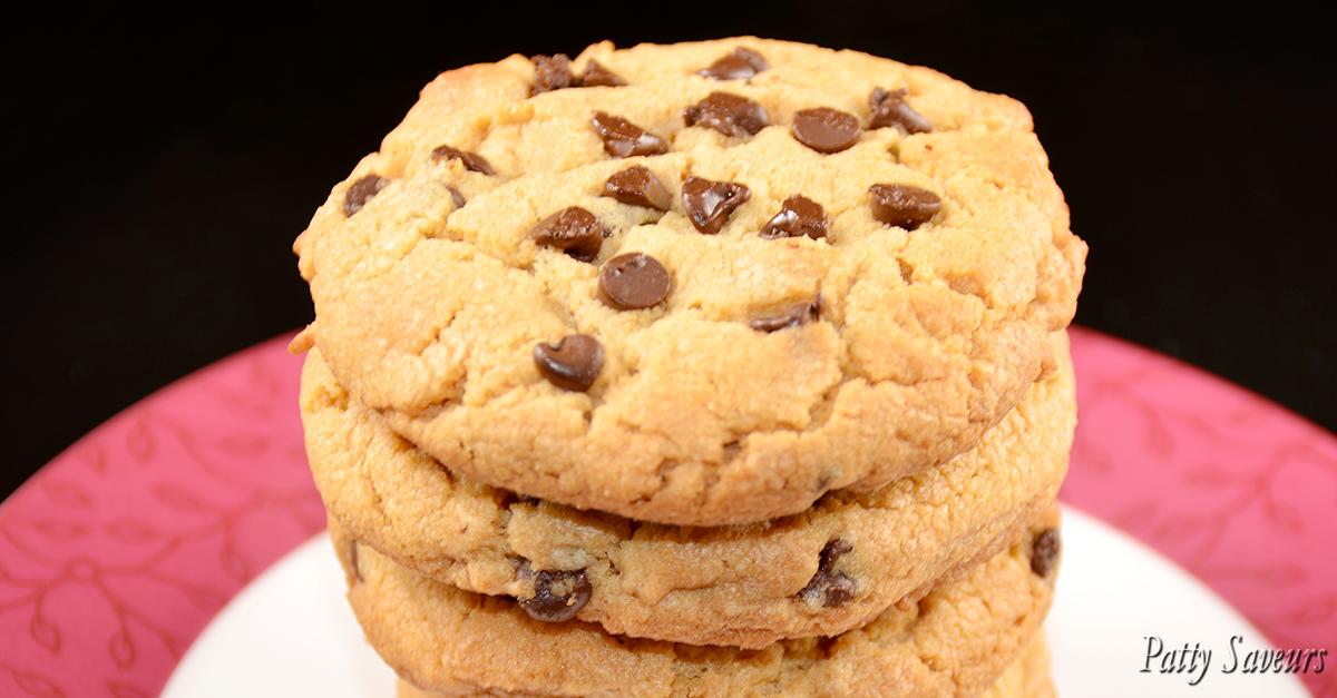 patty saveurs cookies au beurre de cacahu te et chocolat. Black Bedroom Furniture Sets. Home Design Ideas