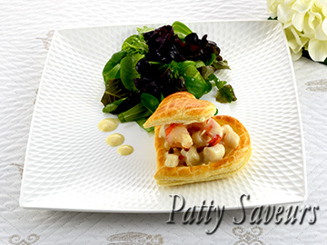 Creamy Scallops Vol au Vent small