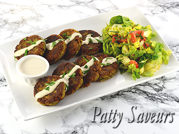 Easy Pan Fried Falafel Recipe