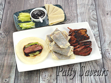 Easy Peking Duck and Pancakes small