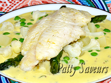 Filets de Daurade Grillés, Sauce Hollandaise petite