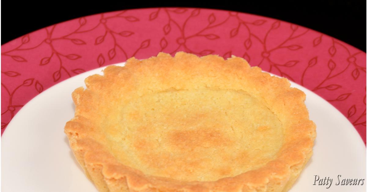 Fond de tarte sabl e shortbread - Fond de tarte biscuit ...