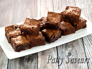 Fudgy Cherry Brownies small