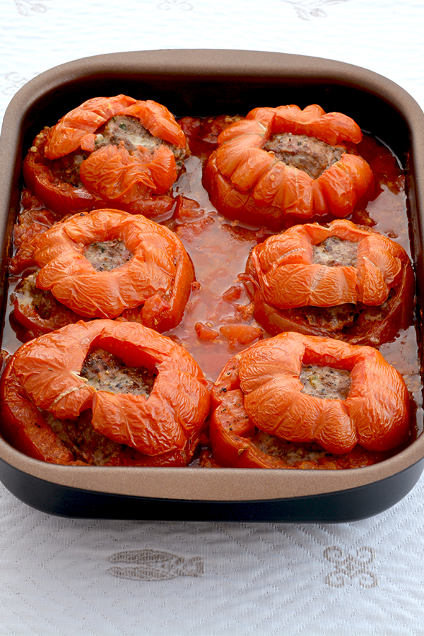 Ground Beef Stuffed Tomatoes Pinterest