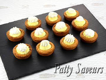 Lemon Mousse Cookie Cups small