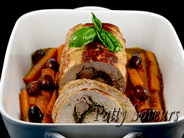 Mushroom Stuffed Pork Roast small