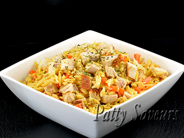 Orzo and Turkey Stir Fry small