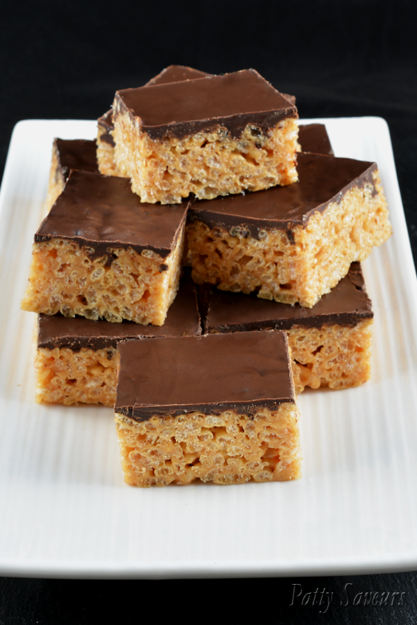 Peanut Butter Rice Krispies Squares Pinterest