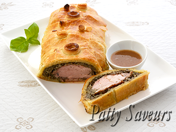 Pork Wellington Port Wine Sauce small