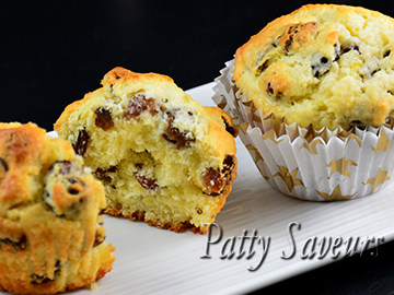 Raisins and Lemon Muffins small