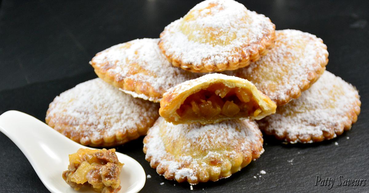 Patty saveurs rissoles pommes caram lis es et p cans - Feuillete aux pommes caramelisees ...