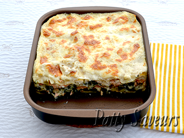 Salmon Lasagna with Spinach small