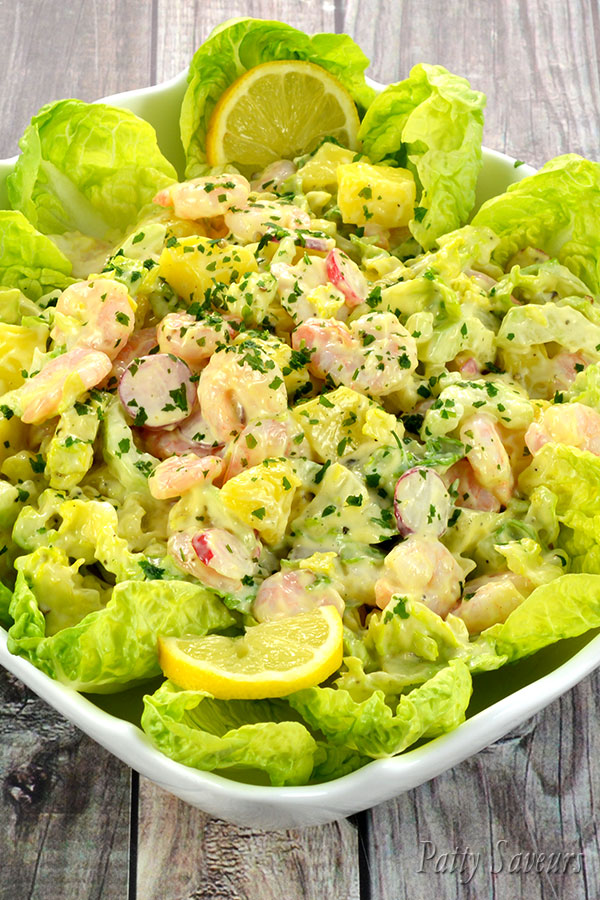 Shrimp and Potato Salad Pinterest